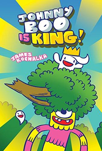 portada Johnny boo is King (Johnny boo Book 9) (libro en Inglés)